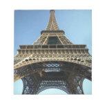 El mirar para arriba la torre Eiffel Bloc