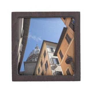 el mirar para arriba los edificios colorido pintad cajas de recuerdo de calidad