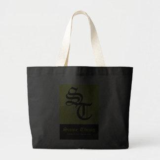 El mismo bolso del logotipo de la cosa - suposició bolsas de mano