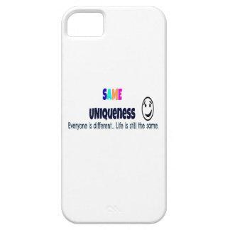 El mismo caso del iPhone 5 de la unicidad iPhone 5 Funda