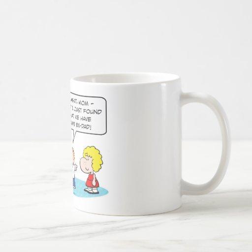 el mismo ex-papá embroma divorcio taza de café