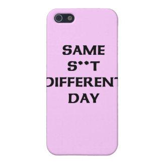 el mismo s ** diverso día de t iPhone 5 funda