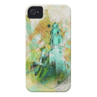 el MissionDolores vibrante de la exhibición de San iPhone 4 Case-Mate Fundas