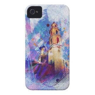 el MissionDolores vibrante de la exhibición de San iPhone 4 Case-Mate Cárcasa