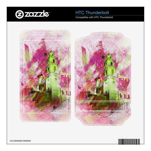 el MissionDolores vibrante de San Francisco Skins Para HTC Thunderbolt