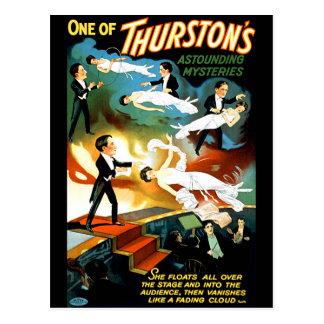 ¡El misterio asombroso de Thurston! Postales