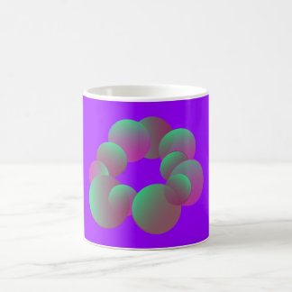 El misterio burbujea taza