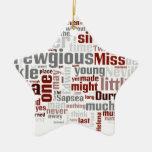 El misterio de Edwin Drood Ornamento Para Arbol De Navidad