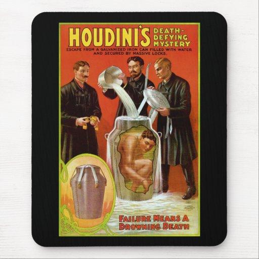 El misterio de Muerte-Desafío de Houdini Alfombrilla De Ratones