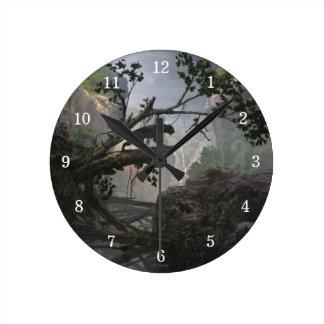El misterio del libro el | de la selva de la selva reloj redondo mediano