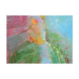 El misterio impresion de lienzo