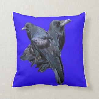 El místico Ravens la almohada azul por Sharles