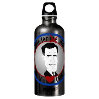 El mitón ama la botella de la libertad de los