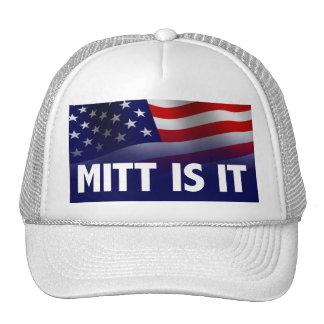 El mitón es él - Romney Ryan 2012 Gorras De Camionero