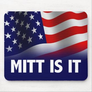 El mitón es él - Romney Ryan 2012 Tapete De Raton