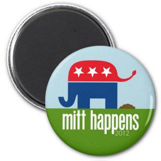 El mitón sucede - la elección divertida 2012 de Ro Imán Redondo 5 Cm