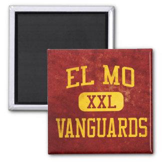 El Mo Vanguards Athletics 2 Inch Square Magnet