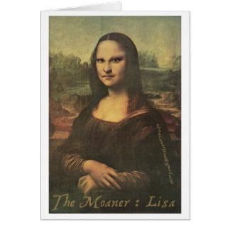 El Moaner: Lisa - Notecard Tarjeta Pequeña
