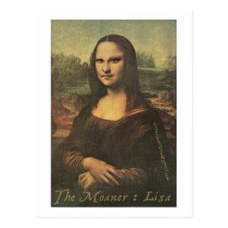 El Moaner: Lisa - postal