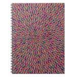 El modelo artístico de la PLANTILLA DIY añade el Libros De Apuntes Con Espiral