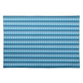 El modelo azul DIY de FineArt de la chispa añade Manteles