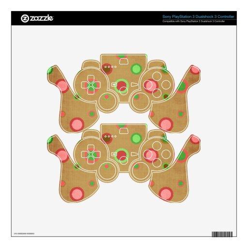 EL MODELO DE _496_CIRCLES-PAPER POLKADOT PICA VERD MANDO PS3 SKIN