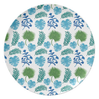 El modelo de las hojas de palma platos para fiestas