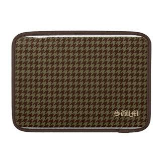 El modelo de los caballeros hermosos de Brown Funda MacBook
