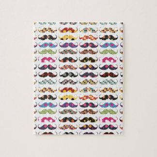 El modelo del bigote es lindo puzzles con fotos