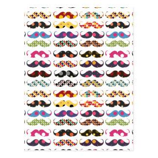 El modelo del bigote es lindo tarjetas postales
