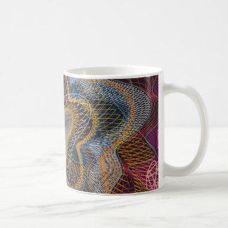 El modelo del guilloquis alinea el blck taza de café