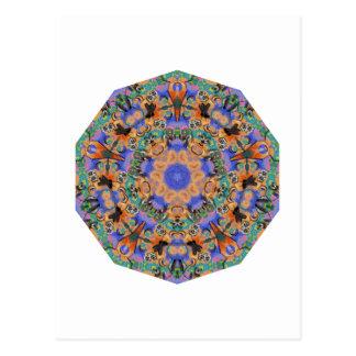 El modelo geométrico 10 - añada su propio texto postales