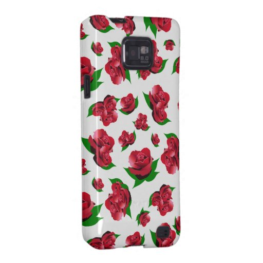 El modelo Samsung del rosa blanco y rojo cubre Galaxy S2 Fundas