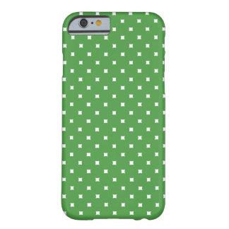 El modelo verde y blanco puntea el caso del iPhone Funda Para iPhone 6 Barely There
