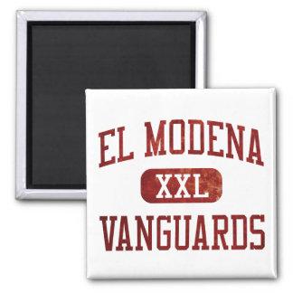 El Modena Vanguards Athletics 2 Inch Square Magnet