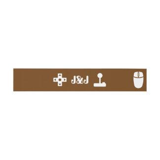 El modo multijugador en chocolate invita a la cintas para invitaciones