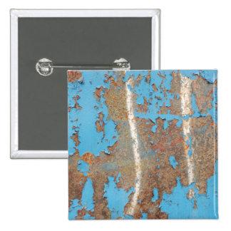 El MOHO AZUL Corroded-metal1617 TEXTURIZA los META Pins