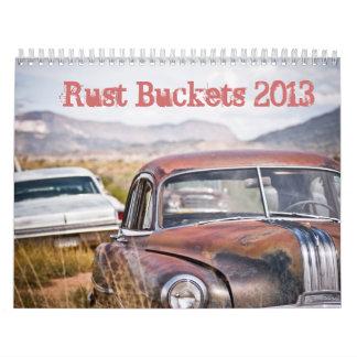 El moho Buckets 2013 Calendarios