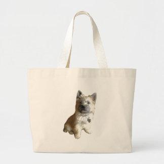 ¡El mojón Terrier más lindo nunca!  ¡Más lindo que Bolsa De Tela Grande