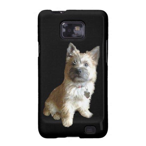 ¡El mojón Terrier más lindo nunca!  ¡Más lindo que Galaxy S2 Fundas