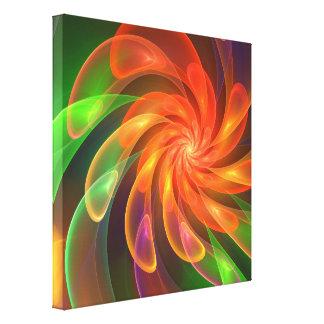 El molinillo de viento mágico impresión en lienzo