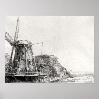 El molino, 1641 póster