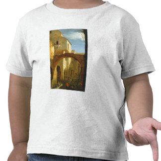 El molino (aceite en lona) camiseta