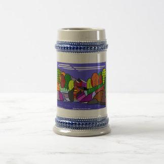 El molino cristalino tazas de café