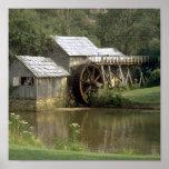 El molino de agua poster