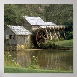 El molino de agua póster