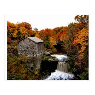 El molino de Lanterman en otoño Tarjetas Postales