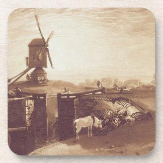 El molino de viento y la cerradura, grabados por G Posavaso