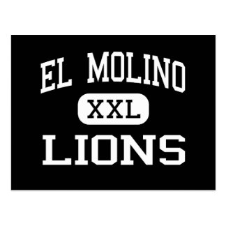 El Molino - Lions - High - Forestville California Postcard