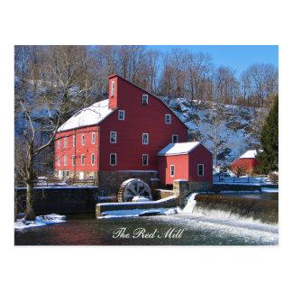 El molino rojo II Tarjetas Postales